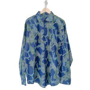Custom Abstract Print Dress Shirt